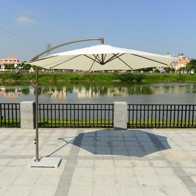 户外遮阳伞-太阳能香蕉伞